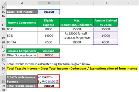 For most disability claims, the employee must provide a medical form signed by a doctor that details the illness or injury. Taxable Income Formula   Calculator (Examples with Excel Template)