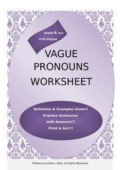 updated learning    vague pronoun
