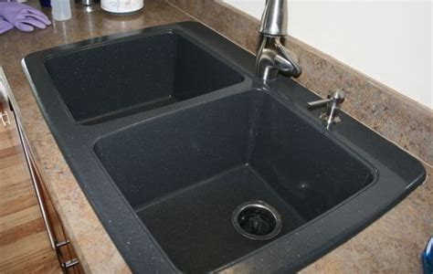 how to clean composite sink kitchen mineral composition of granite images