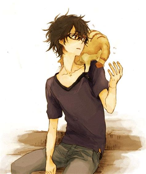 anime boy with cat 104 best images about dem bishies on cool