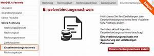 Vodafone Festnetz Rechnung : hilfe verbindungs bersicht einzelverbindungsnachweis rechnung ~ Themetempest.com Abrechnung