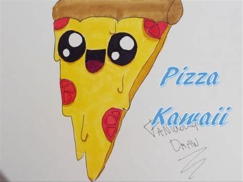 Comment Dessiner Une Pizza Kawaii Youtube