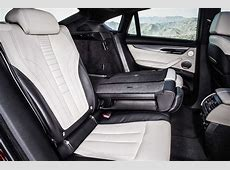The new BMW X6 M50d Bicolour Leather Nappa with extended