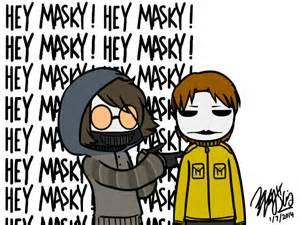 Toby And Masky Gif By Edwardelrickun On Deviantart