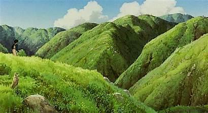 Ghibli Mononoke Princess Studio Gifs Ashitaka Howl