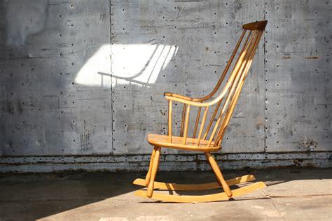 schommelstoel lena larsson retro vintage lena larsson nesto pastoe schommelstoel