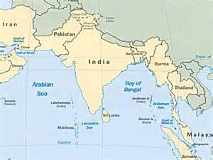 What Countries Are around India