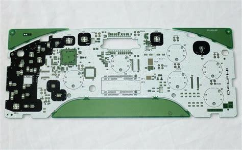 Delphi Circuit Board Rev Instrument Cluster