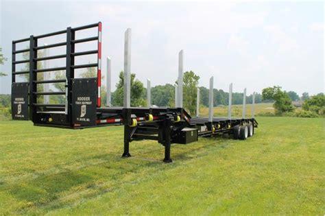 battle wagon trailers  drop frame trailer log trailer