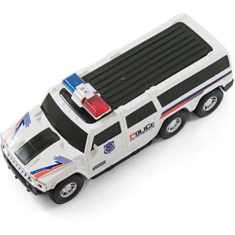 Bump And Go Super Police Car