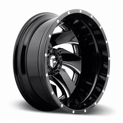 Dually Wheels Fuel Cleaver D239 Piece Rear
