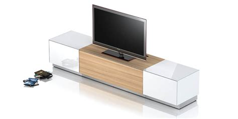 meuble bas cuisine gris meuble tv laque blanc et chene solutions pour la