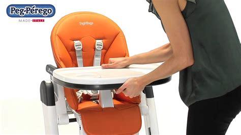 chaise haute bébé peg perego chaise haute siesta de peg perego