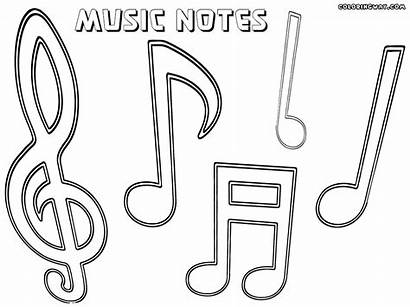 Coloring Notes Musical Note Popular Lowgif