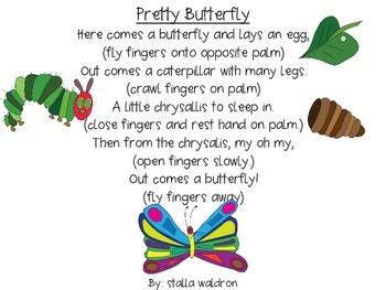 pretty butterfly poem and props by in ecse tpt 697 | original 1156811 1