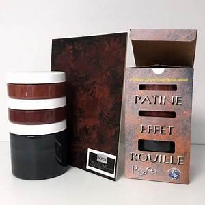 Peinture Effet Patiné : peinture effet rouille patine naturelle biorox ~ Melissatoandfro.com Idées de Décoration