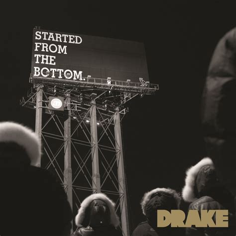 Drake Meme Started From The Bottom - macklemore s thrift shop goes 4x platinum drake s started from the bottom goes gold