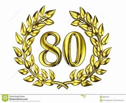 Golden Zahl Goldene Cijfer Gouden Kroon Einem