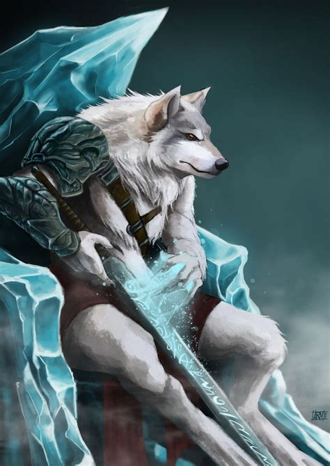 wolf king  adrianriom  deviantart arte lobisomem