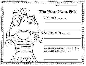 pout pout fish worksheet  worksheetjunkie tpt