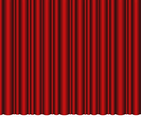 closed theater curtains red transparent png clip art image
