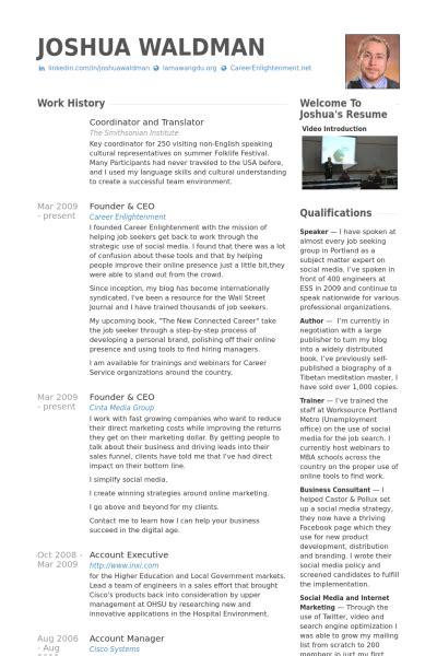 translator resume sles visualcv resume sles database