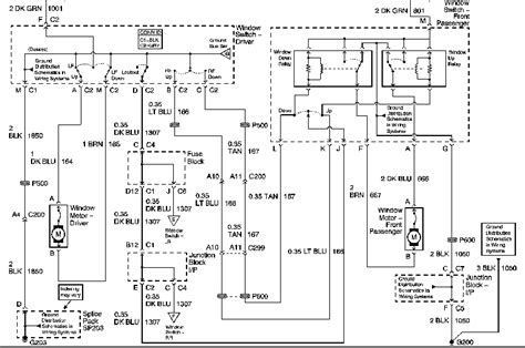 Solved Wiring Diagram For Window Controls Fixya