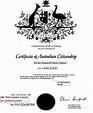 Application for australian citizenship by descent uk