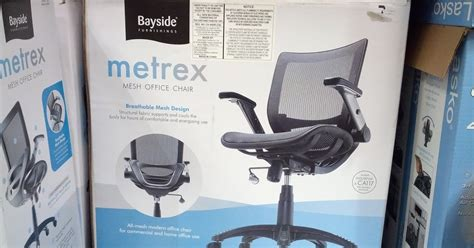 bayside furnishings metrex mesh office chair costco