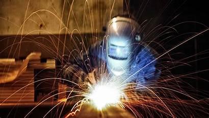 Welding Sparks Workers Helmet Gray
