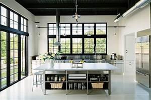 15, Extraordinary, Modern, Industrial, Kitchen, Interior, Designs