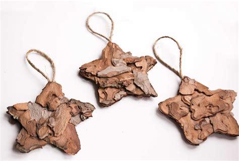 christmas ornaments rustic star ornaments natural by kaleda