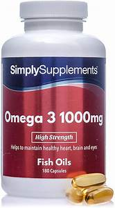 Simply Supplements Omega 3 - 360 Capsules