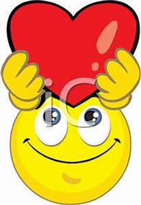 Smiley with Heart Clipart