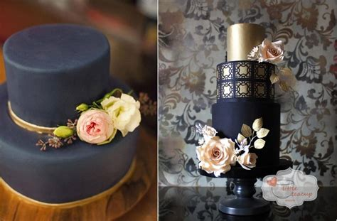 White, Black And Red Damask Cake