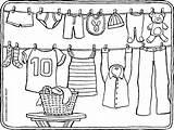 Coloring Washing Colouring Kleding Kleurplaat Wasdraad Kleurplaten Kleidung Clothesline Malvorlagen Kiddicolour Zum Wasmachine Ausmalen Malvorlage Kleurprent Fil Drawing Kiddi Gratis sketch template