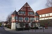 Wäschenbeuren, Amtshaus der Vögte, erbaut 1588 von ...