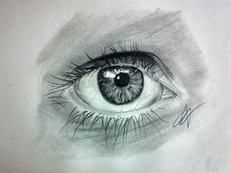 Como dibujar un Ojo realista paso a paso