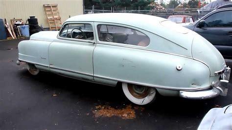 1949 Nash Ambassador Airflyte Super Special Barnfind ...