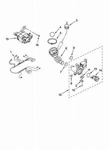 Whirlpool Residential Washer Pump And Motor Parts