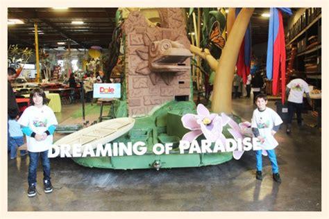 decorating  dole rose parade float popsicle blog