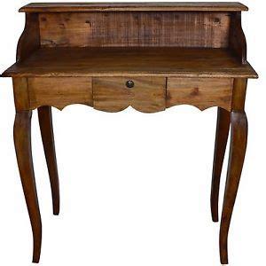table bureau ancien bureau table secretaire meuble ancien bois marron ecriture