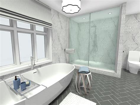 Modern White Bathroom Floor Tile by 10 Must Try New Bathroom Ideas Roomsketcher