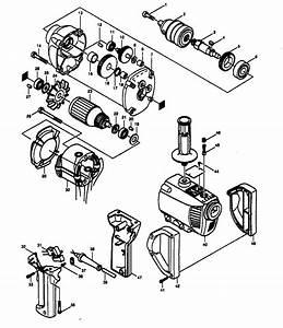 Makita Model 6013br Drill Reversing Genuine Parts