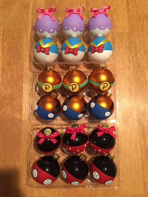 diy disney character ornaments merry christmas