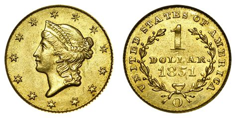 are gold dollars worth anything 1851 o liberty head gold dollars type 1 early gold dollar value and prices
