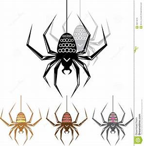Color Spider Vector Art Stock Vector  Illustration Of