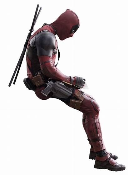 Deadpool Transparent Characters Imagem Pensando Producer Movies