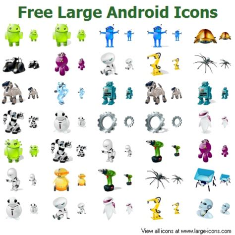 free android free large android icons free images at clker