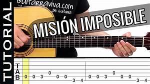 Cómo tocar Misión Imposible en guitarra SUPER FACIL! especial principiantes YouTube